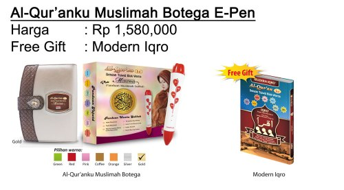 AlQuranKu Muslimah-Botega-Epen