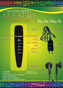 AlFatih Talking Pen-fitur