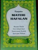 Buku Materi Hafalan
